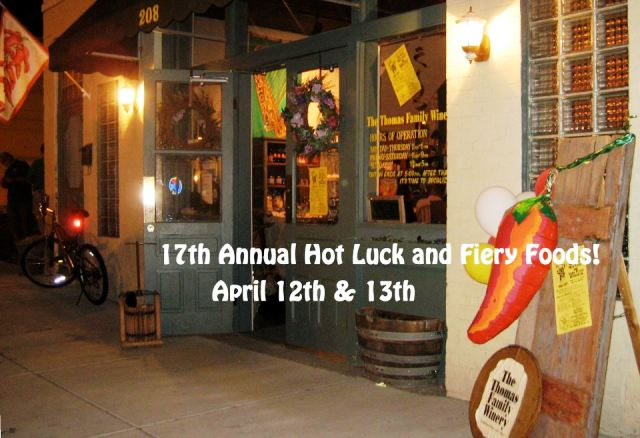 17th Annual Hot Luck & Fiery Foods