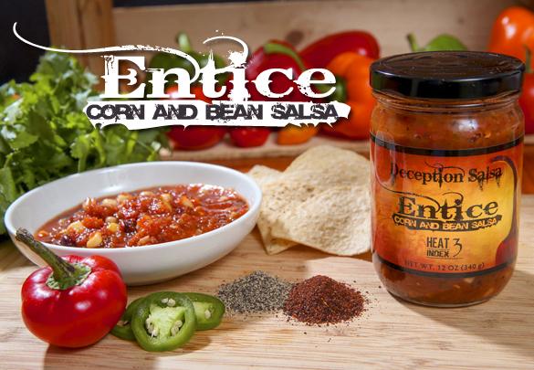 Entice Corn & Bean Salsa
