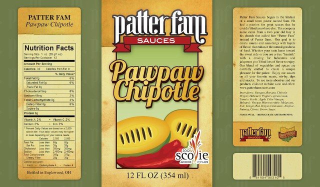 pawpaw label