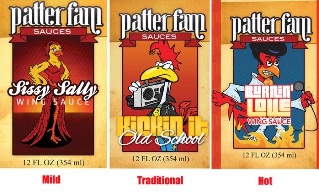 Patter Fam's new wing sauce Kickstarter