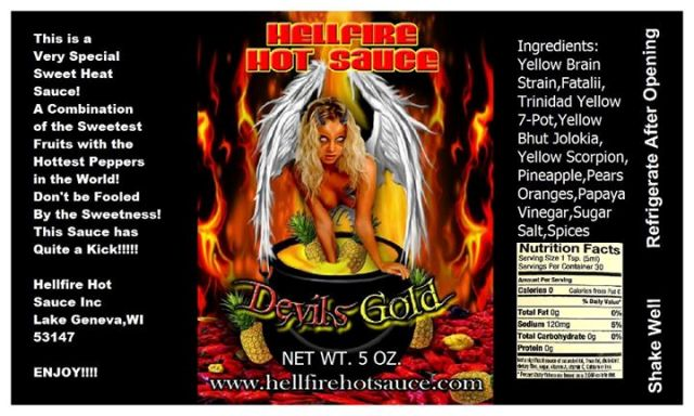 Devil's Gold label