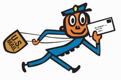 USPS Retro Mailman