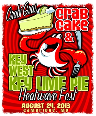 Crabi Gras Crab Cake & Key Lime Pie Heatwave Fest