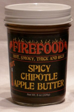 Spicy Chipotle Apple Butter