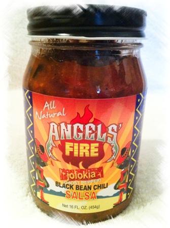 Angels' Fire Black Bean Chili Salsa - Jolokia