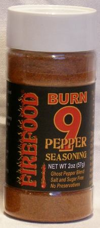 Burn 9 Pepper Seasoning