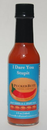 I Dare You Stupit Hot Sauce