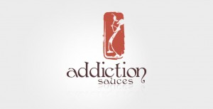 addiction-sauces-logo-design