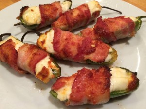 Gene Olczak Bracon Wrapped Jalapeno Poppers