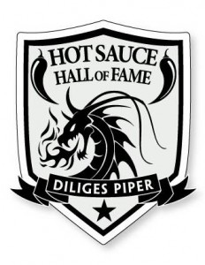 Hot Sauce Hall of Fame Shield